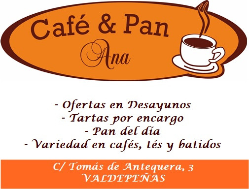 LOGO CAFE Y PAN ANA